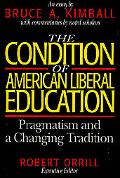 Condition of American Liberal Education