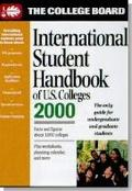 College Board International Student Handbook of U. S. Colleges 2000 - College Board - Paperb...