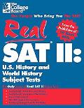 Real Sat II History and World History Subject Tests