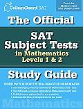 Official Sat Subject Tests in Mathematics Levels 1 & 2