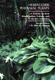 Herbaceous Perennial Plants A Treatise on Their Identification, Culture, and Garden Attributes