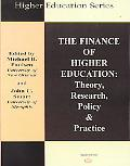 Finance of Higher Education Theory, Research, Policy & Practice