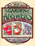 Rodale's Garden Answers: Vegetables, Fruits and Herbs - Fern Marshall Bradley - Hardcover