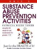 Substance Abuse Prevention Activities