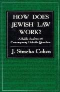 How Does Jewish Law Work? A Rabbi Analyzes 95 Contemporary Halachic Questions