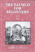 Talmud for Beginners Text