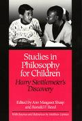 Studies in Philosophy for Children Harry Stottlemeier's Discovery
