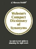 Webster's Compact Diction.of Synonyms