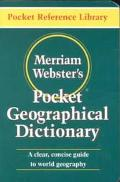 Merriam-Webster's Pocket Geographical Dictionary