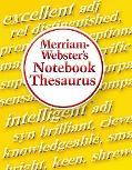 Merriam-Webster's Notebook Thesaurus
