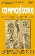 Commonsong Accoustic Meditations