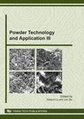 Powder Technology and Application III