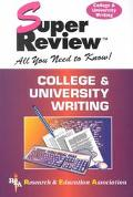 College and University Writing