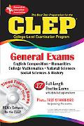 Best Test Preparation For The Clep General Exams with CD-ROM for Windows - REA's Interactive...