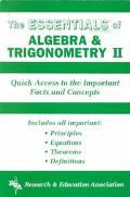 Essentials of Algebra and Trigonometry II