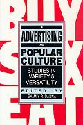 Advertising and Popular Culture Studies in Variety and Versatility