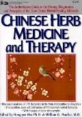 Chinese Herb Medicine and Therapy