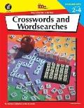 Crosswords and Wordsearches, Grades 2 to 4