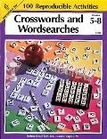 Crosswords and Wordsearches, Grades 5 to 8