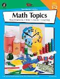 Math Topics, Grades 1 to 2