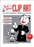 Mostly Happy Clip Art of the 30'S, 40'S, and 50's Scan, Photocopy, Stat