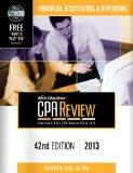 Bisk CPA Review: Financial Accounting & Reporting - 42nd Edition 2013 (Comprehensive CPA Exa...