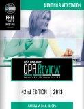 isk CPA Review: Auditing & Attestation, 42nd Edition, 2013(CPA Comprehensive Exam Review- Au...