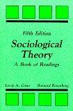Sociological Theory A Book of Readings