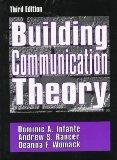 Building Communication Theory
