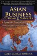 Asian Business Customs and Manners A Country-by-country Guide
