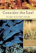 Consider the Leaf Foliage in Garden Design