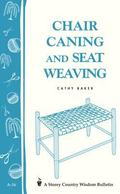 Chair Caning Cane, Rush and Related Techniques of Seat Weaving