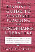 Pianists Guide to Standard Teaching