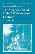 American Mind in the Mid-Nineteenth Century