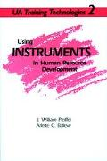 Using Instruments in Human Resource Development - J. William Pfeiffer - Paperback