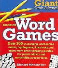 Giant Grab A Pencil Book of Word Games