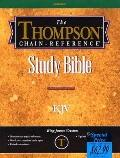 Thompson Chain-Reference Bible: Burgundy Indexed