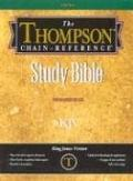 B-KJV-507 Thompson Chain-Reference Indexed Gray - Krikbride - Other Format