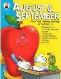 August & September: Full-Color Monthly Activities for Grades 1-3