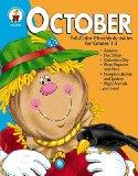 October Full-Color Monthly Activities for Grades 1-3