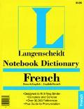 Notebook Dictionary French
