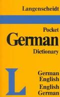 Langenscheidt's German Pocket Dict.