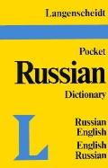 Langenscheidt's Pocket Russian Dictionary: Russian-English English-Russian
