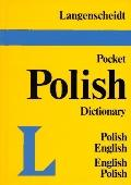 Langenscheidt's Pocket Polish Dictionary English- Polish Polish-English