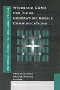Wideband Cdma for Third Generation Mobile Communications