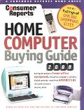 Home Computer Buying Guide 2000 - Consumer Reports - Paperback