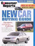 Consumer Reports New Car Buying Guide 2002