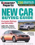 New Car Buying Guide 2003-04