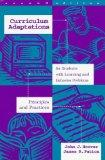 Curriculum Adaptations for Students With Learning and Behavior Problems: Principles and Prac...
