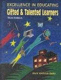 Excellence in Educating Gifted & Talented Learners